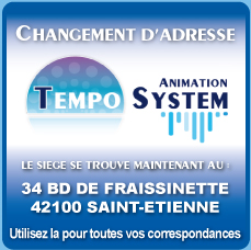 Attention la sono tempo system change d´adresse